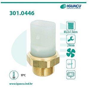 Termo Interruptor do Radiador ( Cebolao ) Blazer 2.5T / S10 2.8T 96 / ... - CIG446