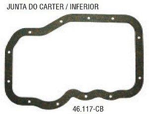 Junta do Carter Inferior VW Fox / Crossfox 1.6 8V - CSS46117CB