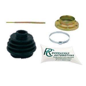 Kit Coifa Homocinetica Lado Cambio com Flange Variant Ii Todos / Kombi 01 / 78 A 12 / 97 ( com Flange ) - CRC10071