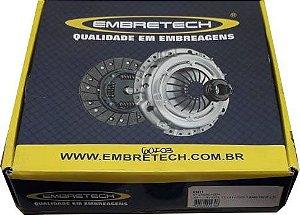Kit Embreagem Santana / Gol / Saveiro Ap 1.8 / 2.0 / Del Rey 1.8 Diametro 210 Estrias 24 - CEB1117