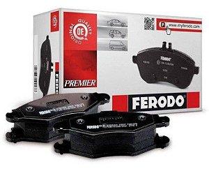 Pastilha de Freio Traseira A5 3.0 FSI V6 08 / ... Q5 2.0 TFSI sem Alarme com Anti Ruido ( Ferodo ) - CHQF4107C