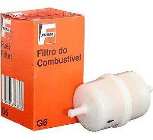Filtro de Combustivel GM / VW / Ford sem Mangueira ( Bico Ø6mm ) - CFFG6