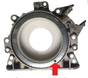 Retentor Traseiro com Roda de Impulso com Flangegol Power 1.0 8 / 16V Gol / Parati / Saveiro - CSS460055T