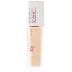 Base Líquida Maybelline SuperStay Full Coverage Tons Claros