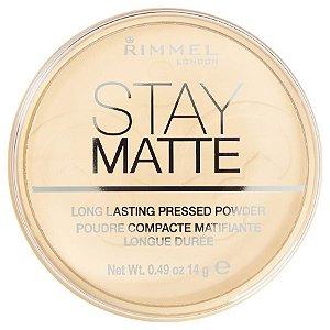 Pó Compacto Matte Rimmel Stay Matte