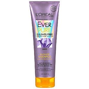 Shampoo Vegano L'Oreal Paris EverPure Cabelos Loiros