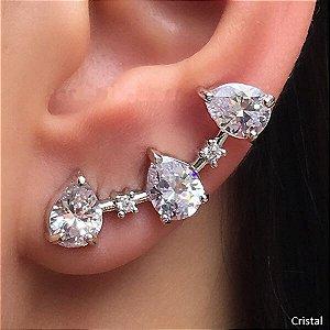Brinco Ear Cuff Gotas