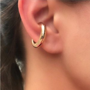 Piercing Falso Liso Ouro 18k G