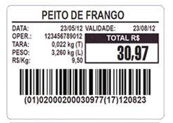 Etiqueta Térmica 60x40mm 36 Rolos Para Combo Wind Super UPX