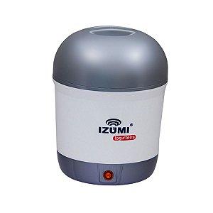 Iogurteira Elétrica Izumi Bivolt Cinza 1L Único com Inmetro