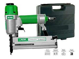 Grampeador E Pinador Pneumático 2 Em 1 F5040 Pino F Grampo90