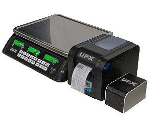 Combo Wind D3R Wifi Balança Etiquetadora UPX 32Kg + Etiquetas