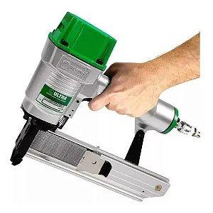 Grampeador Pneumático Hammer Ultra + 5.780 Grampos 14/25mm