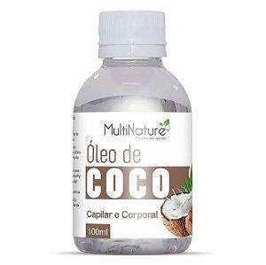 Oleo de Coco 100ml Capilar e Corporal Concentrado