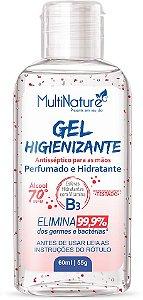 Gel Higienizante Perfumado com Microesferas de Vitamina B3 - 60ml