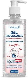 Gel Higienizante Perfumado com Microesferas de Vitamina B3 - 500ml