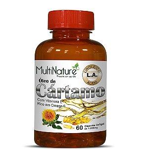 Oleo Cartamo 1G com Vitamina E 60Caps