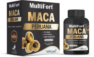 MultiFort Maca Peruana Premium 1.000mg 60 Capsulas