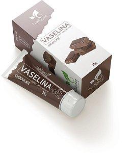 Vaselina Solida 25G Bisnaga Aromatizada Chocolate