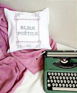 Almofada Alma poética