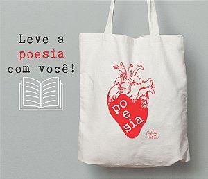Ecobag Literária Poesia