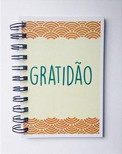 Caderneta Gratidão