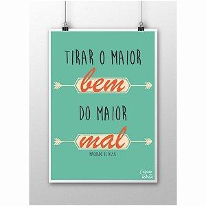 Poster Machado de Assis