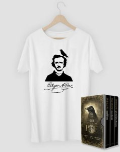 Camiseta Literária Allan Poe