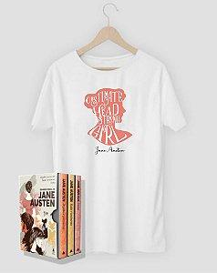 Camiseta Literária Jane Austen