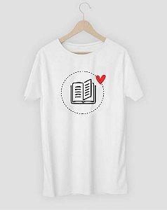 Camiseta Livro Coração