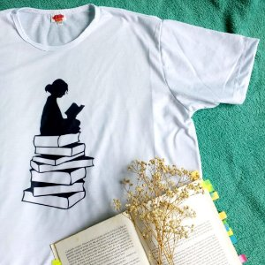 Camiseta Leitora