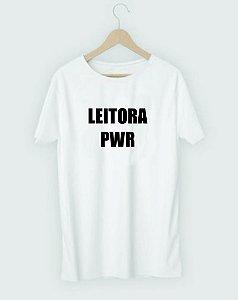 Camiseta Literária Leitora PWR
