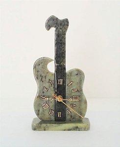 Relógio Viola de Pedra Sabão