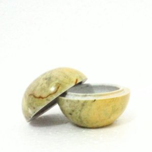 Porta-Joias de Pedra Sabão Natural