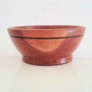 Cuia Madeira Bowl Pote Tigela Cumbuca Artesanal