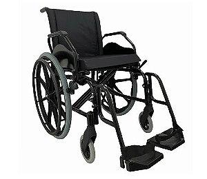 Cadeira de Rodas KE  L 40 X P 40 X A 40 - 120 KG PRATA