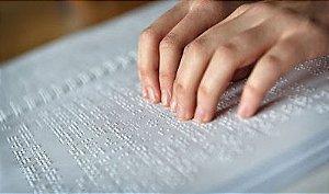 Papel para escrita em braille