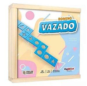DOMINO DE FORMAS VAZADO BRAILLE