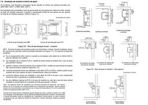 Barra de apoio lavatório - INOX