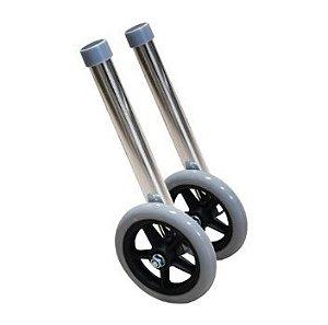 Roda para andador de alumino