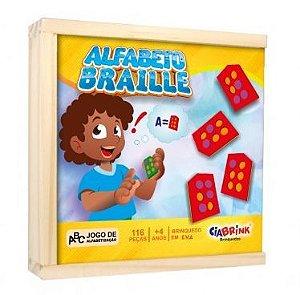 Alfabeto Braille Colado E.V.A