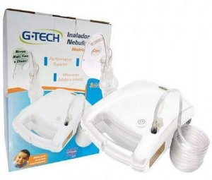 Nebulizador G-Tech Modelo Nebcom V Branco