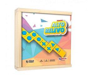 Dominó de Formas Alto Relevo Braille
