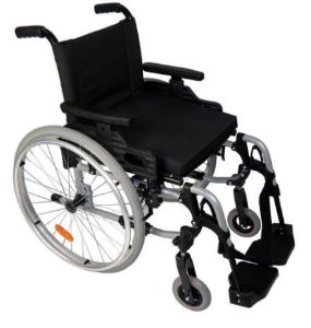 Cadeira de rodas Start M1 - CINZA - 48 cm