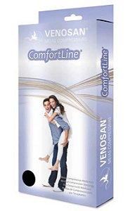 Meia de Compressão Panturrilha Comfortline 20-30 AD Curta Pé Aberto Bege - M