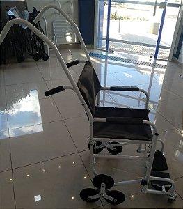 Cadeira de Rodas para Escada - BRANCA