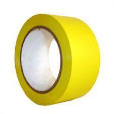 Fita Adesiva Demarcação de Solo - Amarelo