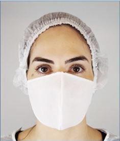 Máscara TNT  Dupla Simples com Elástico