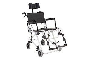 Cadeira de Banho Reclinável com Apoio de Cabeça H3