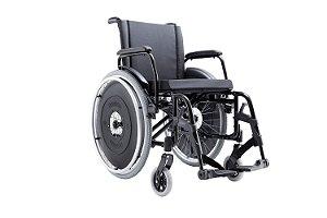 Cadeira de Rodas AVD - PRETO - 42 CM